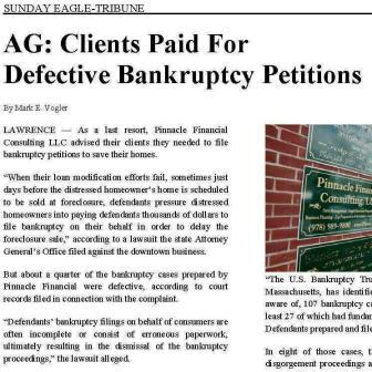 Bankruptcy Petition Preparers