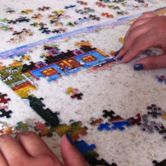 Injury Claim Puzzle Pieces