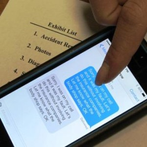 Are Texts Admissible in Court?