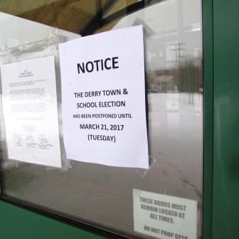 2017 NH Voting Day Cancelled in Some Towns
