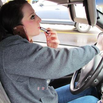 Bad driving causes accidents